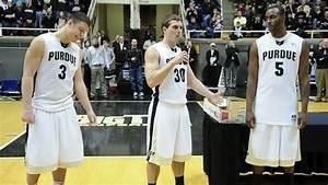 Men's Basketball Senior Night - Purdue Exponent - YouTube