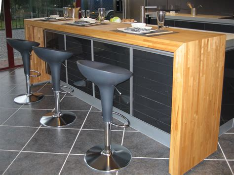 cuisine plan de travail bois massif cuisine plan de travail bois massif sur mesure épaisflip