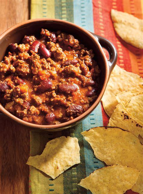 livre de cuisine ricardo chili classique au boeuf ricardo