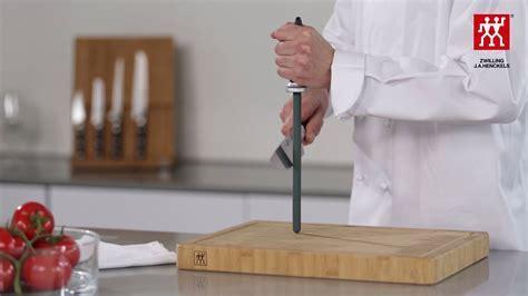Messer schärfen mit dem Wetzstahl ? So geht?s ? ZWILLING J