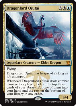 standard deck mtg dragons of tarkir the elder dragons of dragons tarkir magic the gathering