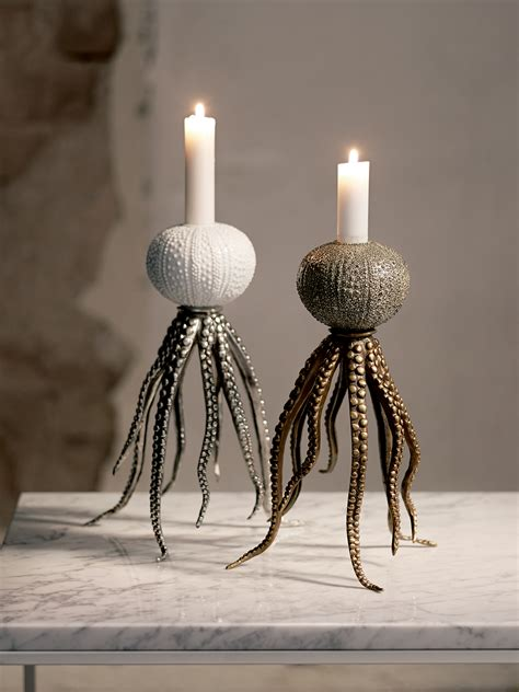 octopus candle holder k 246 p octopus candleholder p 229 mariella interiors
