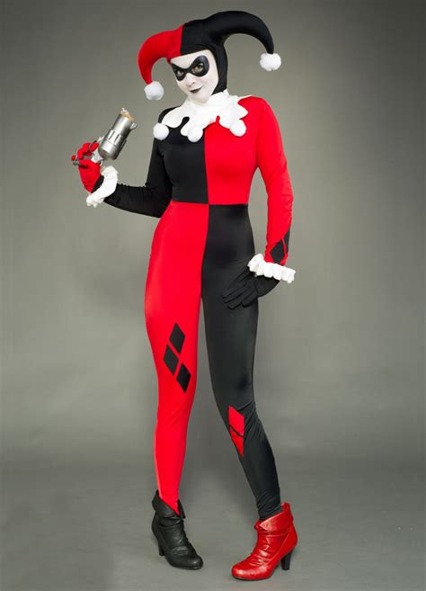 Harley Quinn Cosplay Costume Halloween Zentai 15112077