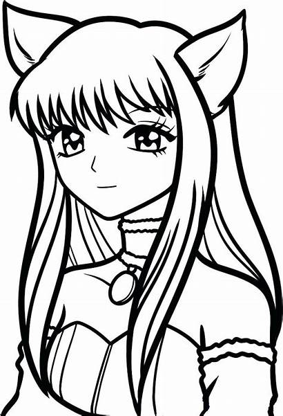 Mew Coloring Pages Draw Tokyo Zakuro Step