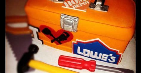 #home #depot #lowes #cake #tools #plumbing #box
