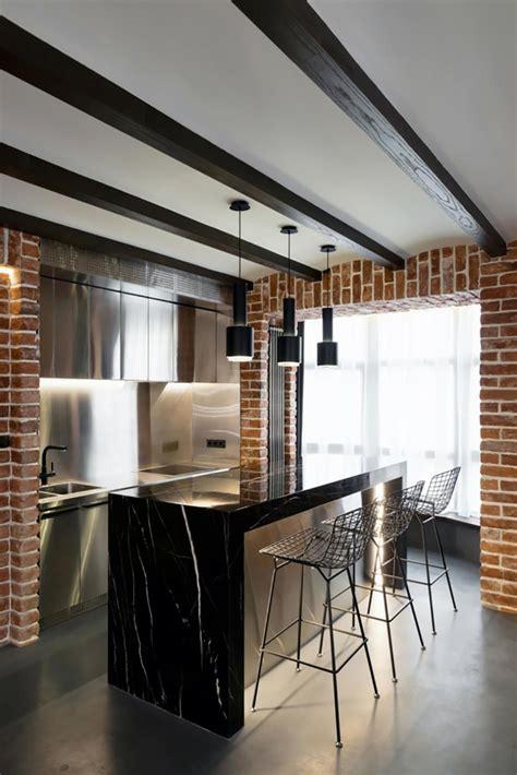 cuisine loft industriel davaus cuisine design industriel avec des idées
