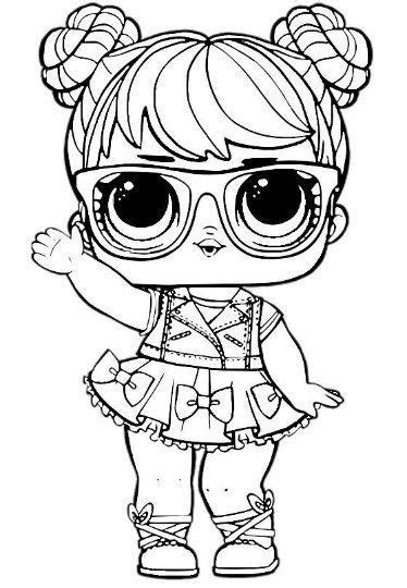 lol doll unicorn girl coloring pages   lol dolls coloring pictures cute coloring pages