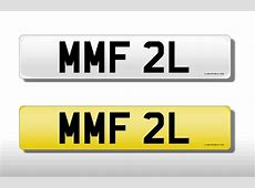 » MMF 2L Cherished Number Plate