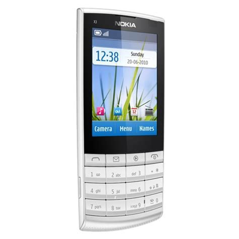Nokia X3 Touch and Type Price, Specifications, Features