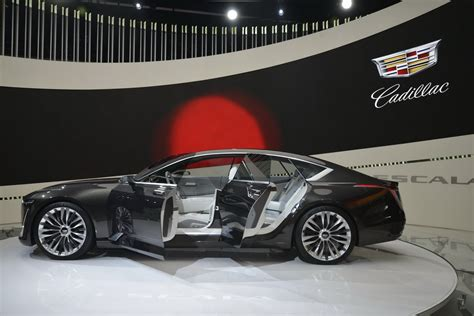 Cadillac Buick cadillac s escala concept is a sharp dressed luxo barge