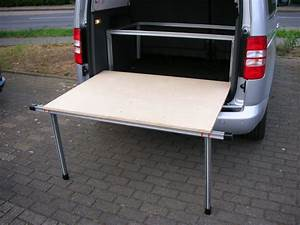 Tisch Für Bett : tisch bett f r vw caddy und maxi inkl tisch ~ Kayakingforconservation.com Haus und Dekorationen