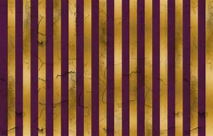 Distressed Stripes Purple and Gold giftwrap - kellyw ...