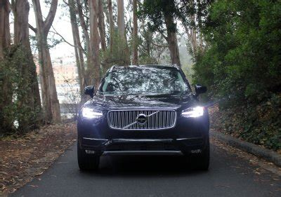 drove volvos  advanced luxury suv   la