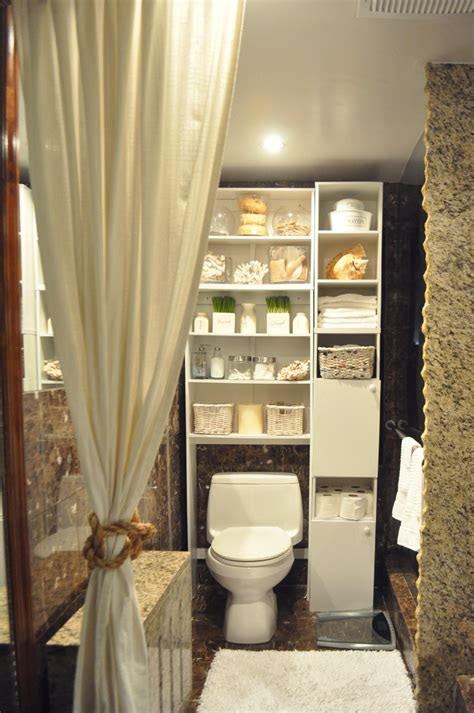 Decorating And Storage Ideas For Small Bathrooms by Cabinet Toilet Idea Small Bathroom Storage