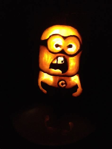 Minion Pumpkin Carving Easy by How To Carve A Minion Pumpkin For Halloween Easy Carving
