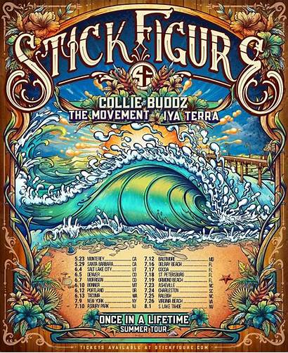 Stick Tour Announces Dates Lifetime Once
