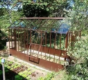 Serre Fer Forgé : 57 best serre fer forg images on pinterest greenhouses ~ Teatrodelosmanantiales.com Idées de Décoration