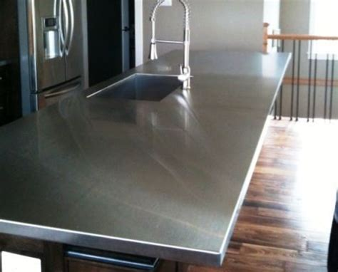Stainless Steel Kitchen Countertops   Things You Need To Know