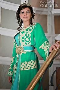 Robe De Mariage Marocaine : robe marocaine de mariage verte 2014 ~ Preciouscoupons.com Idées de Décoration