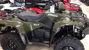 2018 Suzuki Kingquad 750