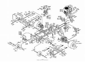 Dixon Ztr 5502  1997  Parts Diagram For Chassis Assembly