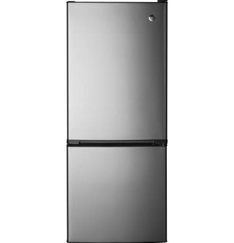 ge  cu ft bottom freezer refrigerator gbeesjsb ge appliances