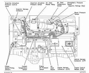 Cat C7 Acert Engine Fuel Pump Diagram  Parts  Wiring