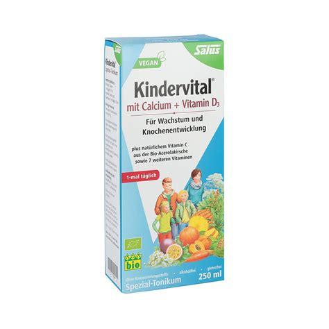 kindervital bio mit calciumd tonikum salus  ml