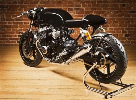 honda cb750 cafe racer by rewheeled bikebrewers com