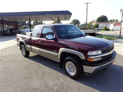 Find Used 2002 Chevrolet Silverado 1500 4x4 No Reserve