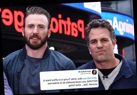 Chris Evans' pal Mark Ruffalo trolls him for accidentally ...
