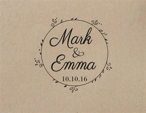 wedding rubber stamps ideas  pinterest