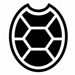 Turtle shell icon | Game-icons.net