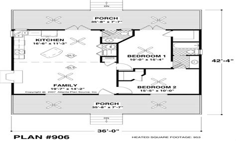 small house floor plans   sq ft small ranch house