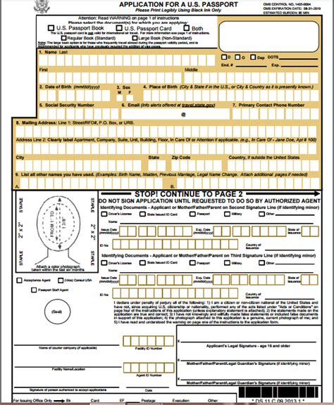 application post it bureau 28 post office application form passport passports