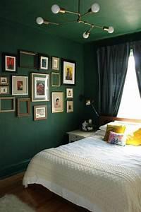 Schlafzimmer Ideen Wandgestaltung Grün gispatcher