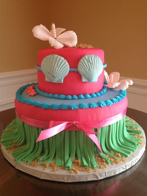 theme bridal shower cake hawaiian theme bridal shower cake hawaiian
