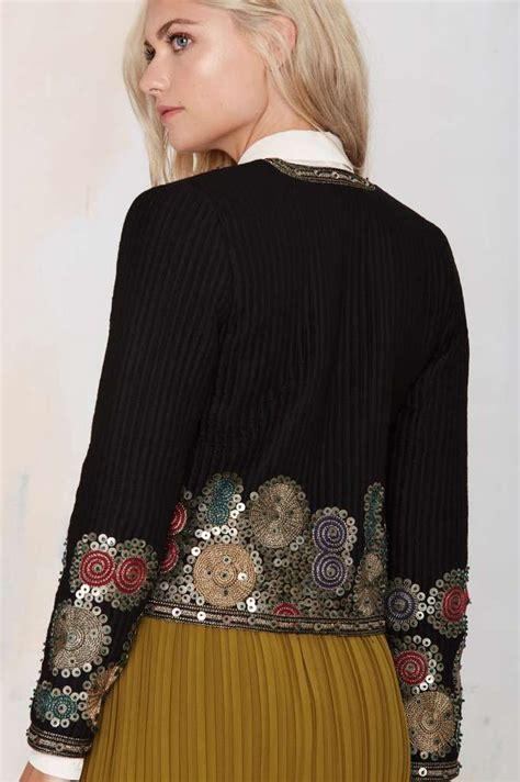 maison scotch whitley embroidered jacket sale 50 jackets coats fashion coats в