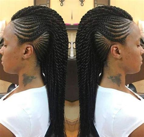 Twisted Mohawk Hairstyle by 30 Beautiful Mohawk Braid Hairstyles For