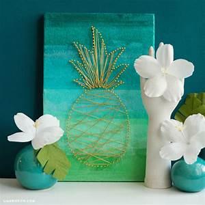 diy tropical wall art bigdiyideascom With tropical wall decor