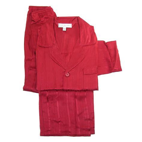 P114 Stripe Pajamas Set mens silk herringbone stripe pajama set by majestic