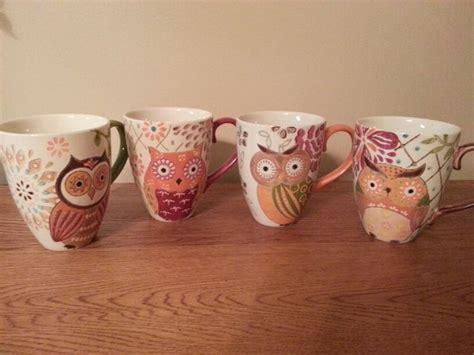 Owl Coffee Mugs From Hobby Lobby
