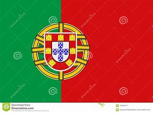 National Symbol Of Portugal Flag Stock Vector ...