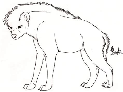 Hyena Page Heads Coloring Pages