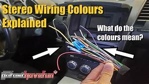 Aftermarket Car Stereo Wiring Colours Explained  Head Unit Wiring