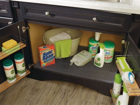 kitchen cabinet water protection protect the inside of your sink cabinet from spills or