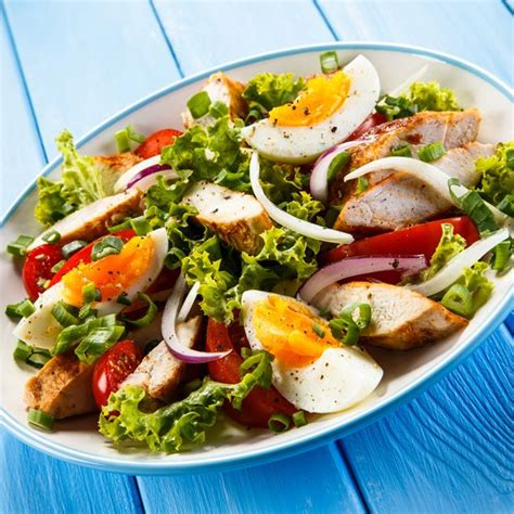 cuisine rapide et facile recette salade de poulet