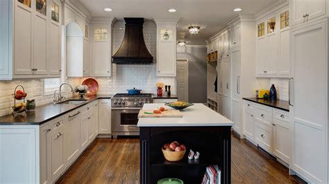 traditional white kitchen drury design
