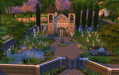 Sims Cemetery Gravestones Downloads Lots Statues Tombs