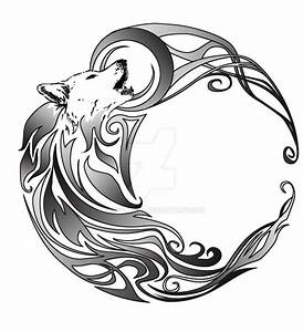 Tribal Wolf Tattoo : collection of 25 new tribal wolf tattoo design ~ Frokenaadalensverden.com Haus und Dekorationen